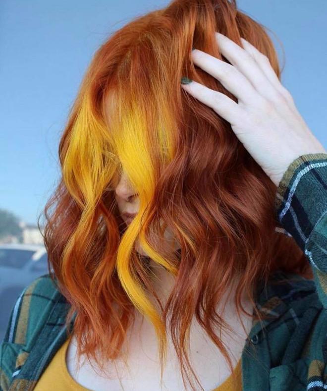 mesmerizing fall foliage hair colors