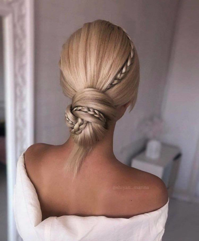 these easy updos will keep the bad hair days away