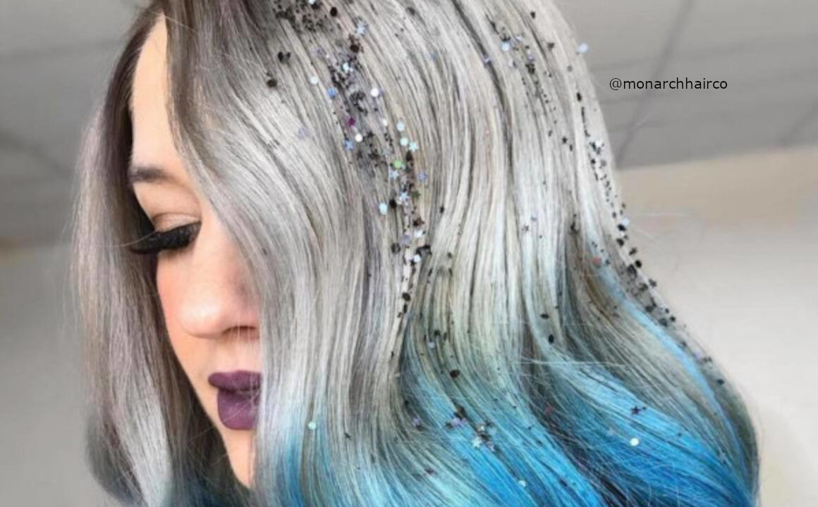 Get Festive-ready With These Glitter Hairstyles