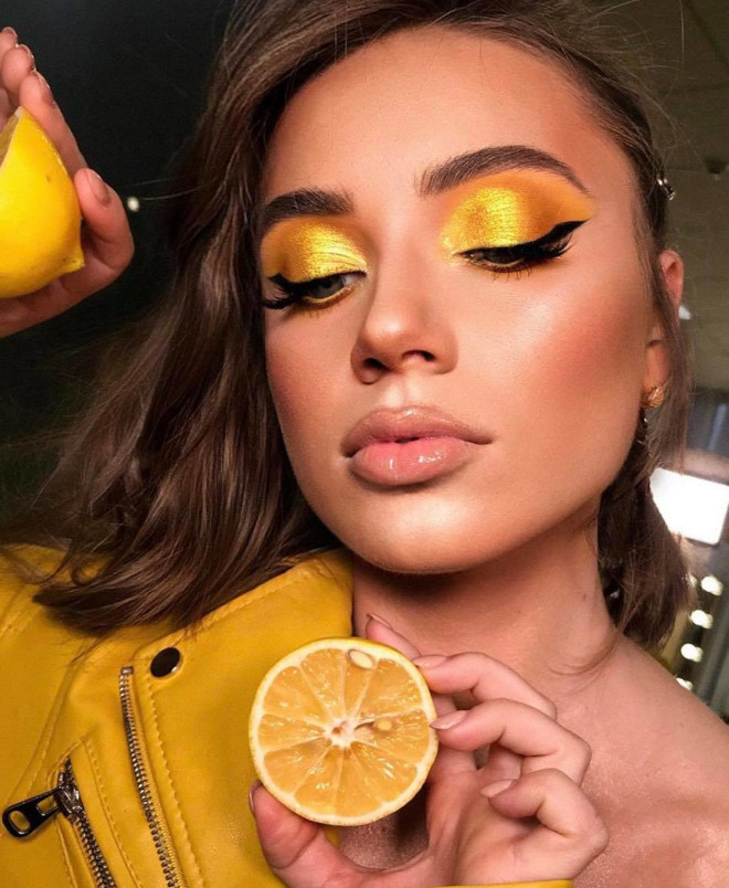 how to wear pantone's 2021 color of the year - illuminating makeup looks