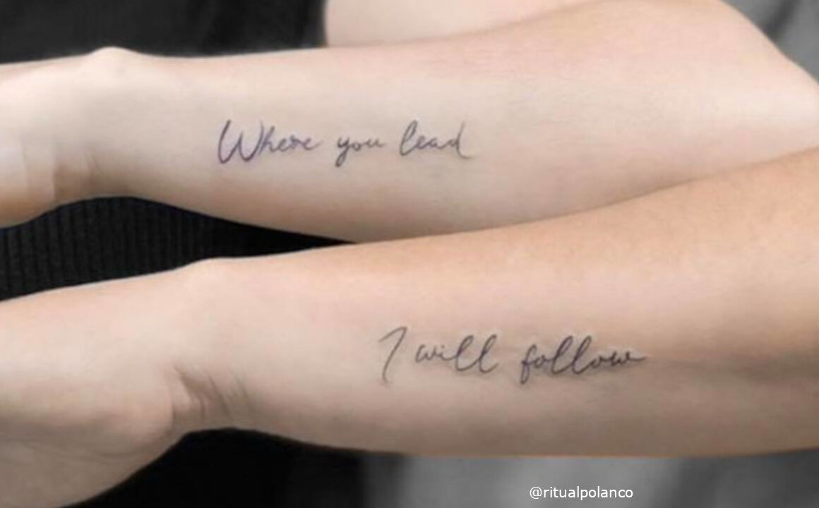Show off your Special Bond with these Adorable Couple Tattoos