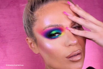 Brighten Up Your Moody Days with These Stunning Neon Makeup Looks for Winter