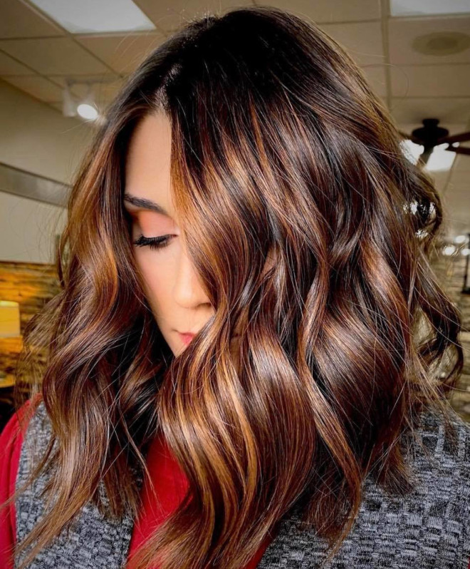 refresh your look in 2021 with the chestnut brunette hair trend