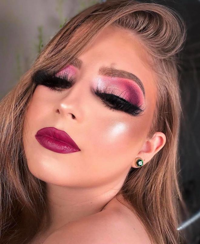 seductive vampy makeup ideas for valentine's day & beyond