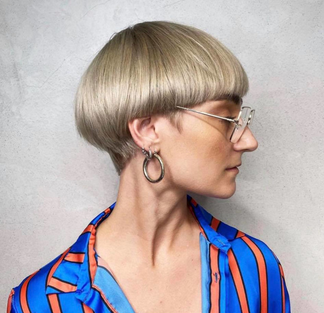 the bowl cut is back in the coolest ways