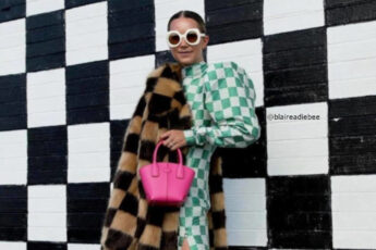 The Checkered Print is One of the Biggest Winter Fashion Trends