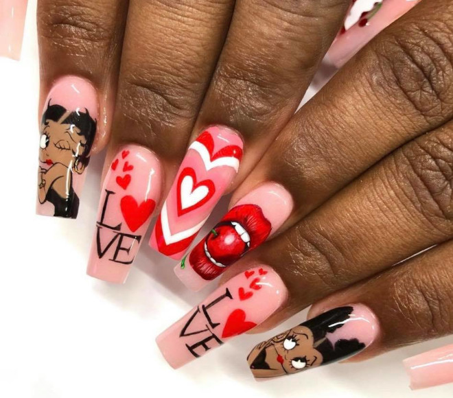 the prettiest valentine's day nails to recreate