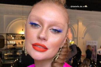 Colored Mascara is Trending in the Era of Face Masks