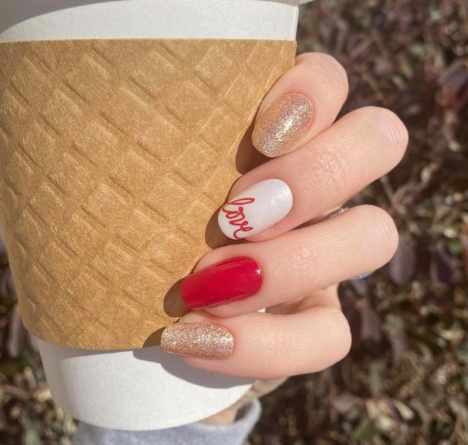 diy valentine's day nail designs that you'll love no matter your relationship status