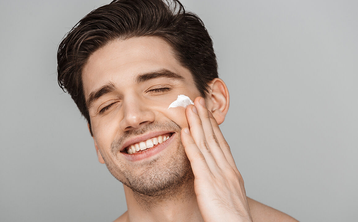 exploring-night-creams-man-washing-face