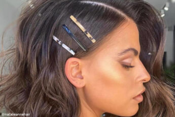 The Prettiest Way to Style A Bob Haircut For a Chic Look