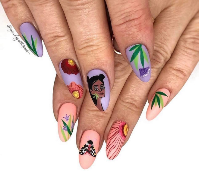 celebrate women's history month with these feminist nails