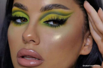 Neon Green Makeup & Pastel Green Makeup Looks to Energize Your Glam Game This Spring