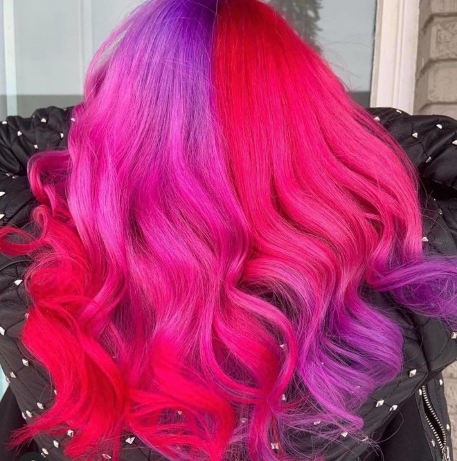 show off your adventurous spirit with these bold hair colors