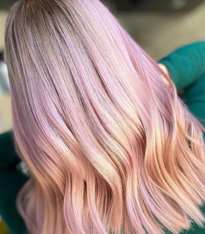 step into the sweet life with cotton candy hair colors