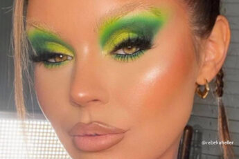 The Green Eye Makeup Trend is Here to Energize Your Spring Days
