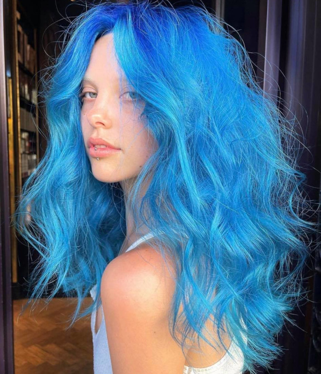 the prettiest blue hair color ideas for a bold look this spring