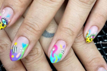 The Prettiest Spring Abstract Nail Designs to Refresh Your Look