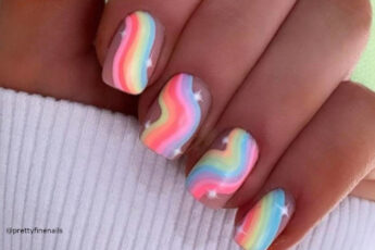 Trend Alert: Rainbow Nails Are Here to Brighten up Your Spring Days