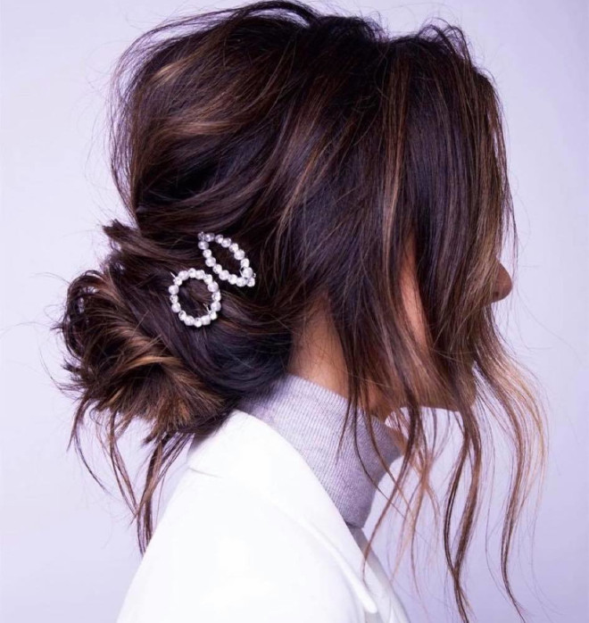 upgrade your lazy messy bun with these chic ideas