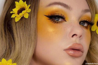Invite Sunshine Into Your Look With The Yellow Eye Makeup Trend
