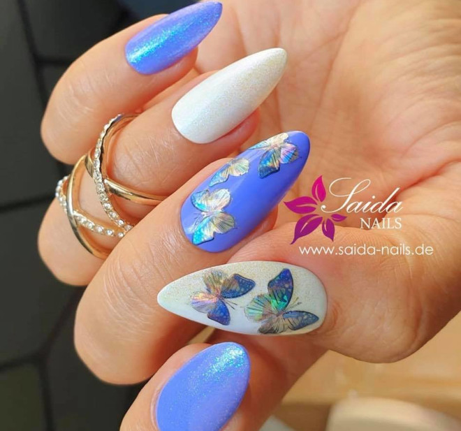 mesmerizing butterfly nail designs to copy this spring