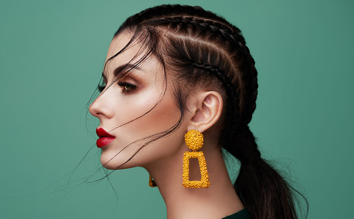 stylish-gifts-while-we-are-in-quaratine-beautiful-woman-in-stylish-earrings