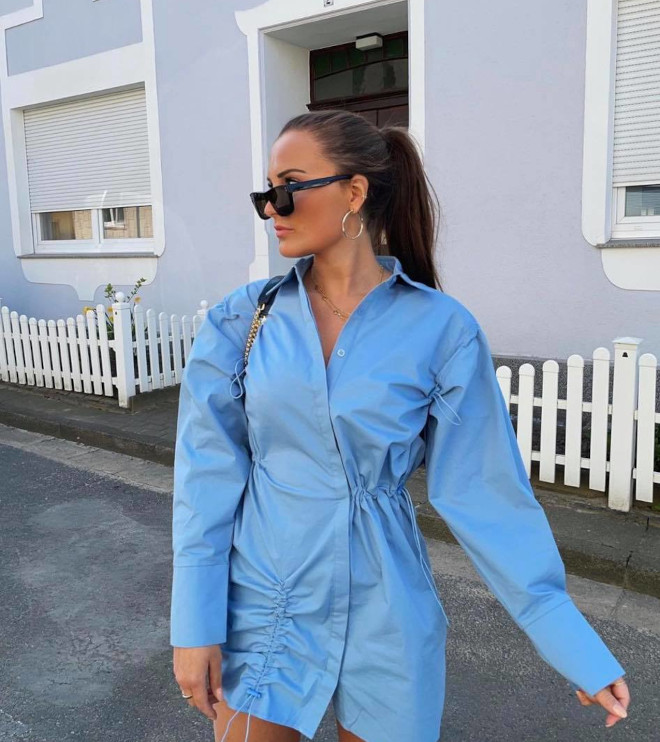 dreamy blue outfits to get yourself noticed this sunny season
