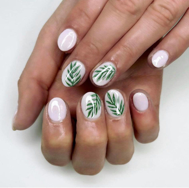invite vacay vibes to your everyday life with tropical nails