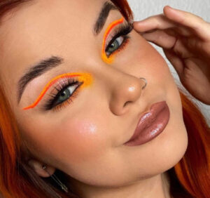 neon eyeliner is the perfect way to accent your eyes & channel your vibrant energy this summer