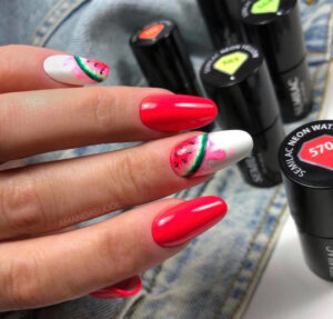 neon nails are here to bolden up your look for spring