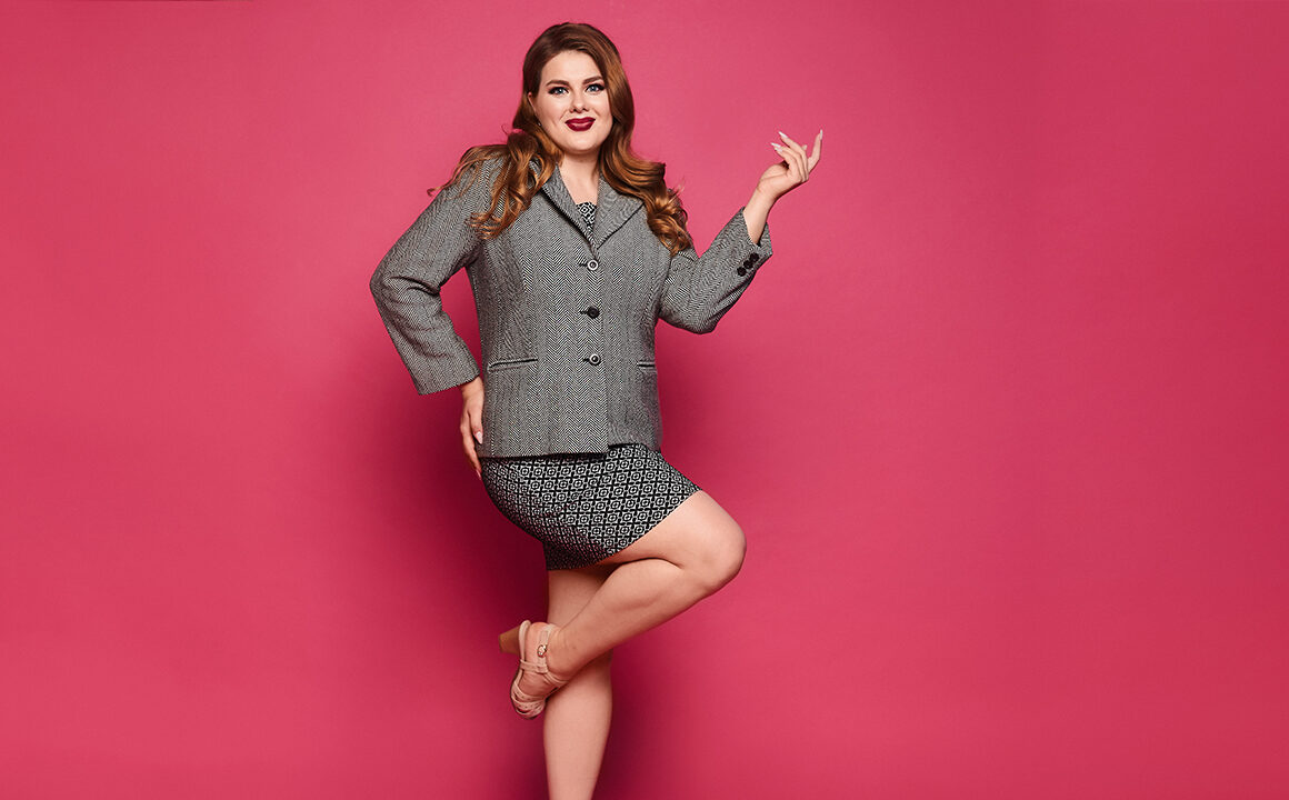 power-dressing-in-the-workplace-plus-size-model-work-attire