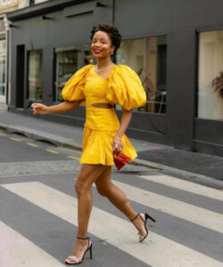 sunny yellow outfits to match the sunny weather
