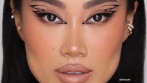 The Double Wing Eyeliner Trend Is Here to Make Your Eyes Pop