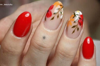 Fiery Red Nails Are Perfect for the Hot Summer Weather