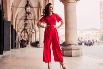 how-jumpsuit-became-iconic-outfit-woman-in-red-jump-suit