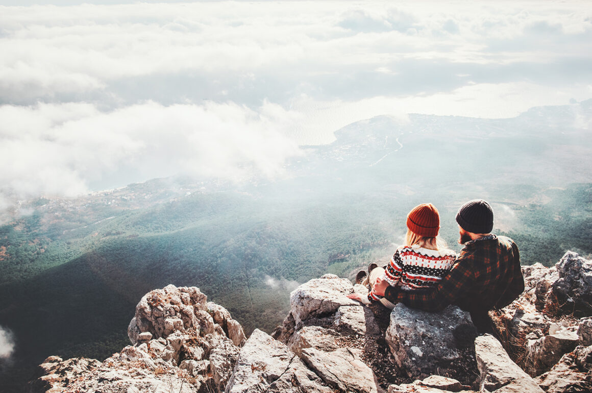 a-sporty-wedding-get-hitched-a-different-way-loving-couple-on-mountain-top
