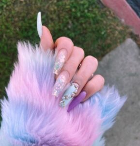 Cotton Candy Nails Are Taking Over Instagram! Get Inspo On How To Wear The Latest Nail Trend!