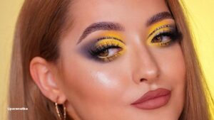 The Hottest Makeup Looks that Showcase Pantone's 2 Colors of the Year 2021 Ultimate Gray And Illuminating Yellow